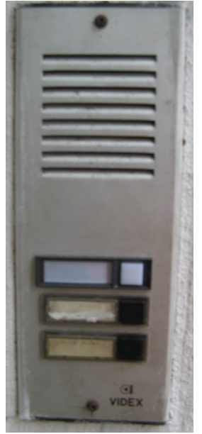 Entry door phones intercom repairs in lonodon for Front door video intercom